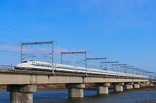 Sanyō Shinkansen Shinkansen (high-speed railway) line between Osaka and Fukuoka