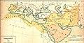 Kalifatet år 750 historisk karta.jpg