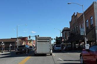 Kalispell, Montana - Main Street, Kalispell