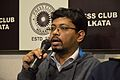 Kalyan Sarkar - Press Conference - Bengali Wikipedia 10th Anniversary Celebration - Kolkata 2015-01-02 2255.JPG