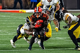 Kareem Hunt American football running back