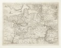 Karta över omgivningarna vid Antwerpen, Gent Hulst och hela Waes (tout le pays de Waes), 1745 - Skoklosters slott - 98029.tif
