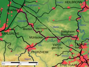 Baden Wurttemberg Karte Db.Westbahn Wurttemberg Wikipedia