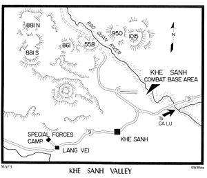 Battle of Khe Sanh - The Khe Sanh Valley