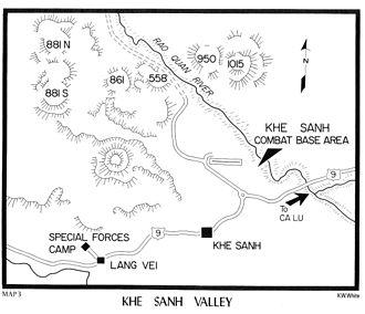Battle of Khe Sanh - The Khe Sanh Valley
