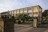 Kasugai City Chubu Junior High School 20161016.jpg