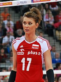 Katarzyna Skowrońska-Dolata 04 - FIVB World Championship European Qualification Women Łódź January 2014.jpg