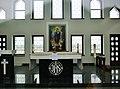 Kaunas Auferstehungskirche Dach Kapelle 5.JPG