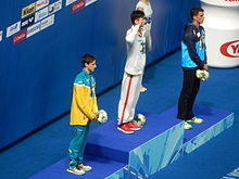 Kazan 2015 - Victory Ceremony 100m freestyle M.JPG