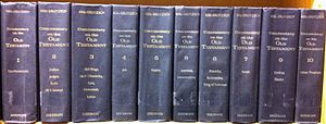 Biblical commentaries by Keil & Delitzsch