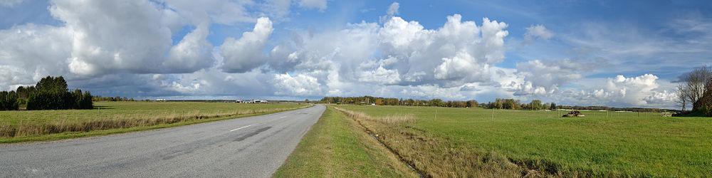 Keila–Ääsmäe road in Tuula village