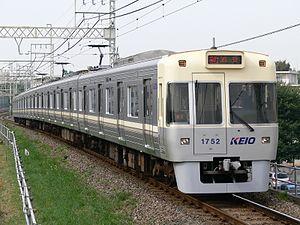 Keio Inokashira Line - Image: Keio 1000ivory