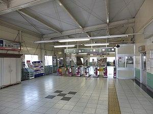 Funabashikeibajō Station - Image: Keisei Funabashikeibajo sta 004