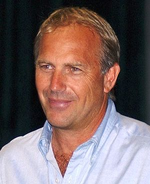 Actor and director Kevin Costner while visitin...