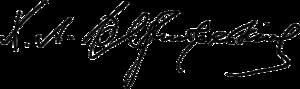 Khrystofor Baranovsky - Image: Khrystofor Baranovsky Signature 1917