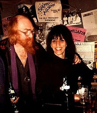 Vivian Stanshall - Vivian Stanshall and Ki Longfellow-Stanshall in the hold of The Thekla