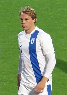 Kimmo Hovi Finnish footballer