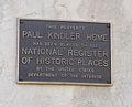 Kindler House Plaque.JPG