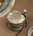 Kinesiskt bronsbältbeslag - Hallwylska museet - 98762.tif