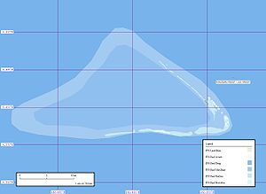 Kingman Reef - Image: Kingman Reef Marplot Map (1 75,000)