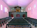 Kirche der Christengemeinschaft (Berlin-Wilmersdorf) Orgelempore.JPG