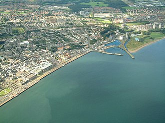 Kirkcaldy - Image: Kirkcaldy and its harbour geograph.org.uk 1143873
