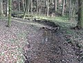 Klingenbach (Gruppenbach), Blick talauf nach ESE an der Mündungslichtung.jpg