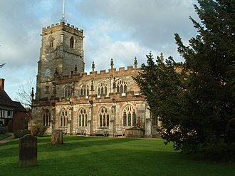 Knowle, West Midlands - Church of St. John the Baptist, St. Lawrence and St. Anne
