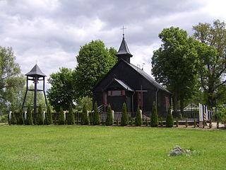 Mała Nieszawka Village in Kuyavian-Pomeranian Voivodeship, Poland