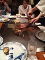 Kobe steak preparation, in kobe, 02.jpg