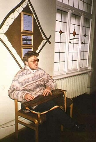 Kokles - Latgale kokles player in Riga