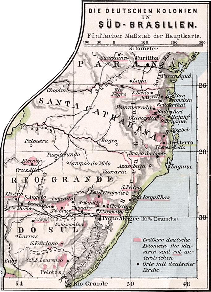 Kolonien Suedbrasilien