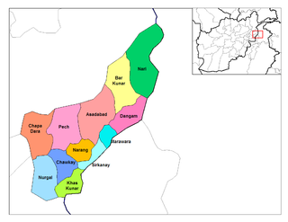 Chapa Dara District District in Kunar, Afghanistan