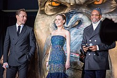 Kong- Skull Island Japan Premiere Red Carpet- Tom Hiddleston, Brie Larson & Samuel L. Jackson (37024493990).jpg