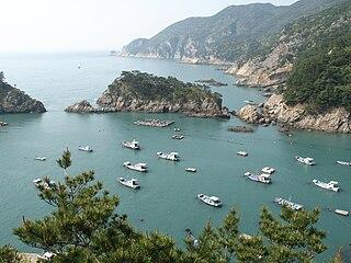 Heuksando Place in South Korea