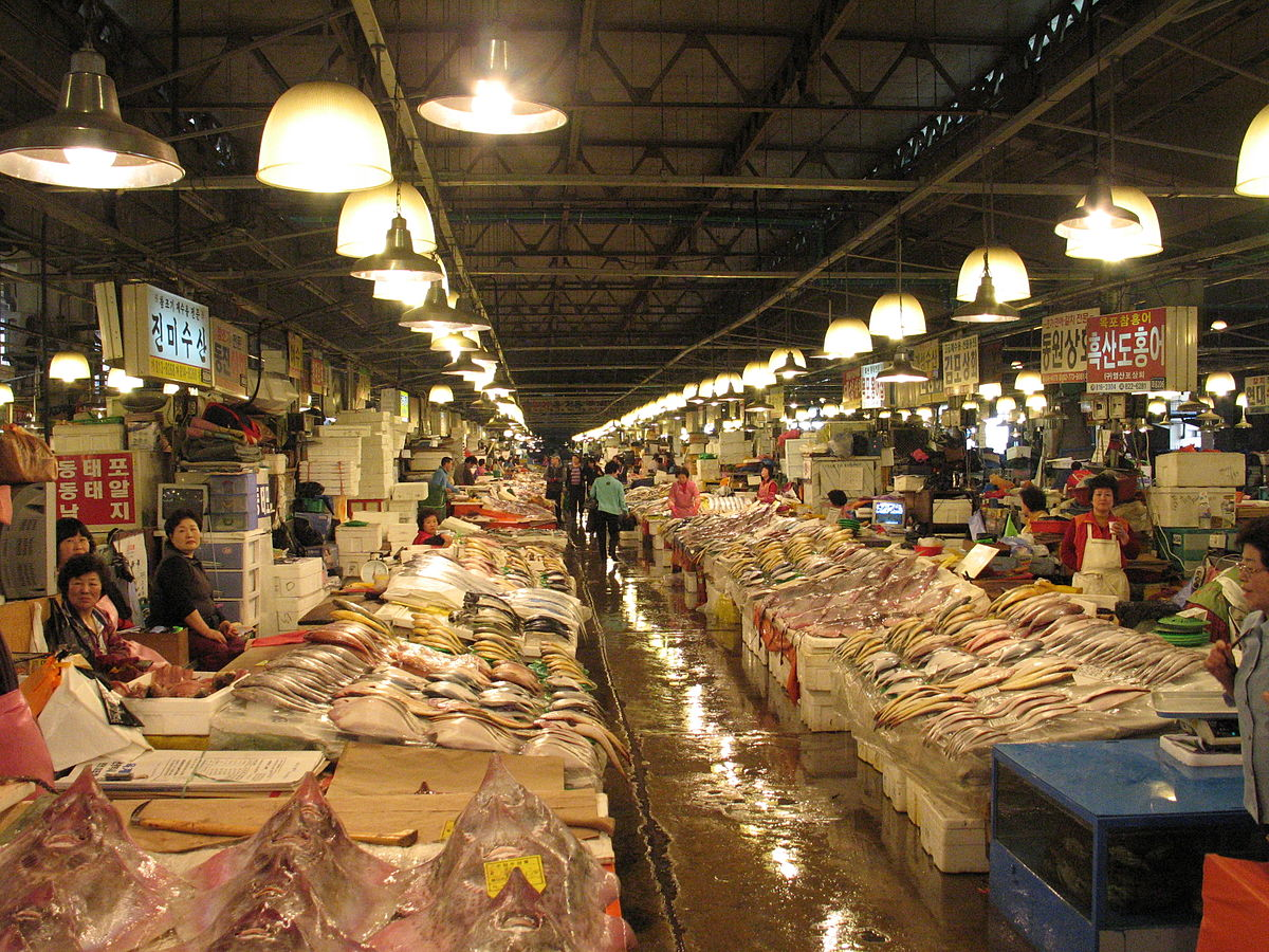 Noryangjin Fisheries Wholesale Market Wikipedia