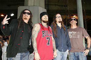 Heavy metal genres - Nu metal band Korn.
