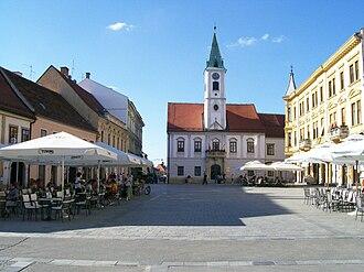 D3 road (Croatia) - Varaždin, on the D3 route