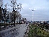 Kosmonavtov street Novovoronezh.JPG
