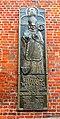 Koszalin, Katedra Niepokalanego Poczęcia Najświętszej Maryi Panny, tablica pamiątkowa i relief Stefana Wyszyńskiego.jpg