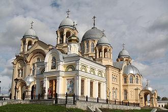 Simeon of Verkhoturye - The Exaltation Cathedral of the Nikolayevsky Monastery of Verkhoturye