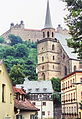 Kulmbach, Petrikirche, Plassenburg, 23.07.95 (01).jpg