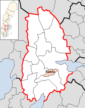 Kumla Municipality in Örebro County.png
