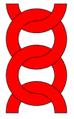 Lánc (heraldika) fr -- chaîne.PNG