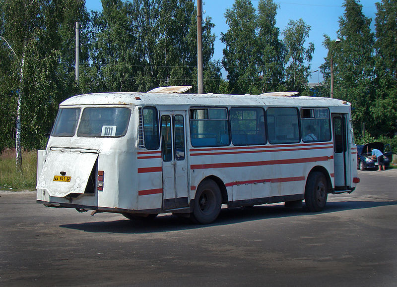 File:LAZ-695N in Chkalovsk.jpg