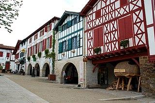 La Bastide-Clairence Commune in Nouvelle-Aquitaine, France