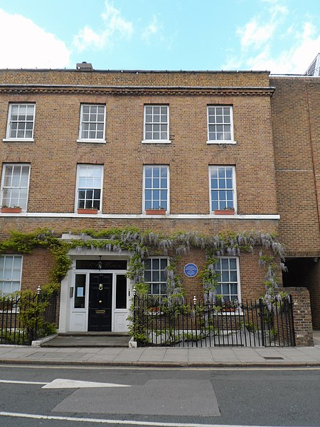 File:LEONARD and VIRGINIA WOOLF - Hogarth House 34 Paradise Road Richmond TW9 1SE.jpg
