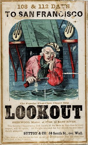 Lookout (clipper) - Image: LOOKOUT (Ship) (c 112 01 57)