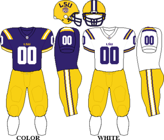 LSU Tigers football football team of Louisiana State University