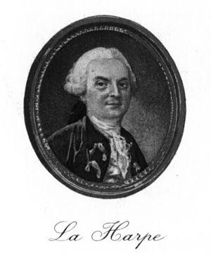 Jean-François de La Harpe - Image: La Harpe